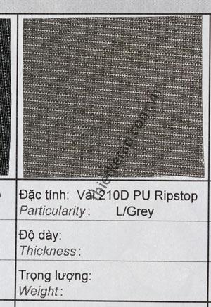 vai-balo-210D-PU-ripstop-l-grey