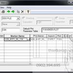 Hướng dẫn in sơ đồ,in rập trong phần mềm Gerber Accumark-1
