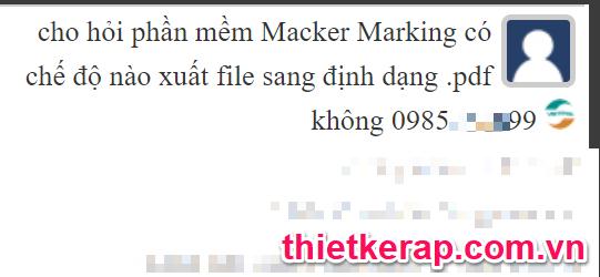 Gerber Accumark có xuất được file PDF không