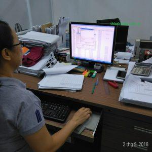 Đào tạo thiết kế rập sơ đồ nâng cao cty may VT
