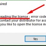 Cách sửa lỗi Optitex Failed reading the license