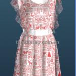 Tuyển sinh lớp thiết kế thời trang 3D trên máy tính.