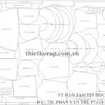 Bài tập thực hành giác sơ đồ-Hạch toán bàn cắt FLEIJA-735PVT