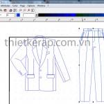 Hướng dẫn copy chi tiết túi sang thân chính-gerber accumark