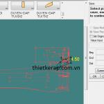 Hiển thị hình ảnh thanh công cụ trên phần mềm Gerber Accumark.