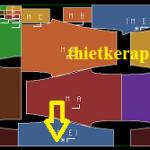 Hướng dẫn tạo sơ đồ thun ống trên phần mềm Gerber Accumark