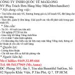 Tuyển nhân viên Merchandiser-Công ty Maxlong-Q7