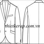 Tài liệu thông số tham khảo thiết kế rập áo vest nam