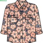 Thiết kế rập áo sơ mi # 68AN